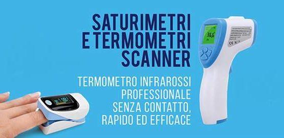 saturimetri e termoscanner brescia